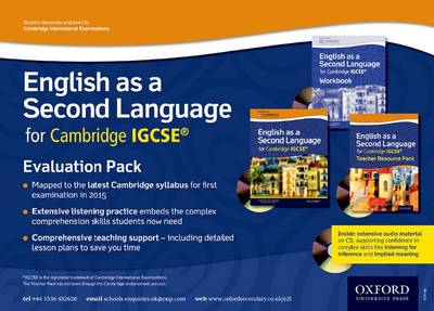 English as a Second Language for Cambridge IGCSE: Evaluation Pack