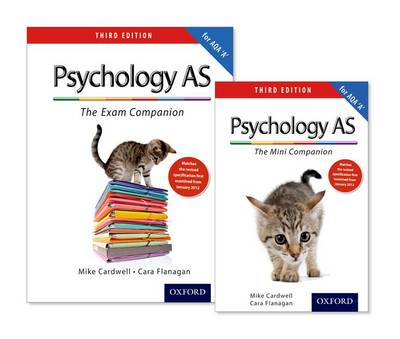 The Complete Companions: AS Revision Pack for AQA A Psychology (Paperback)