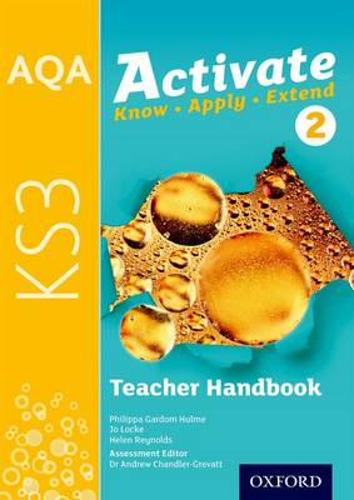 AQA Activate for KS3: Teacher Handbook 1 - AQA Activate for KS3 (Paperback)