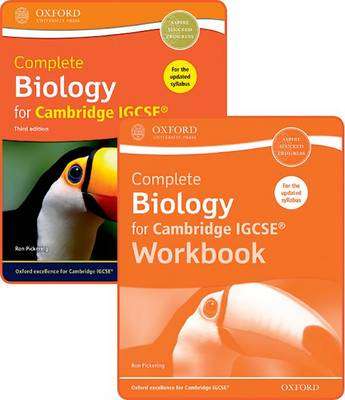 Complete Biology for Cambridge IGCSE (R) Student Book and Workbook Pack