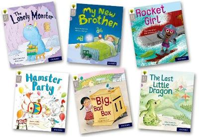Oxford Reading Tree Story Sparks: Oxford Level 1: Mixed Pack of 6 - Oxford Reading Tree Story Sparks