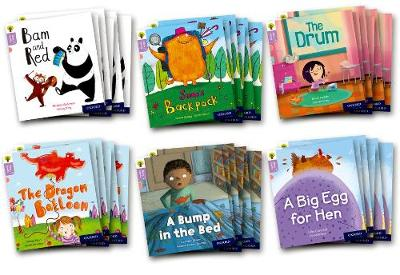 Oxford Reading Tree Story Sparks: Oxford Level 1+: Mixed Pack of 6 - Oxford Reading Tree Story Sparks