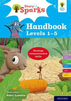 Cover Oxford Reading Tree Story Sparks: Oxford Levels 1-5: Handbook - Oxford Reading Tree Story Sparks