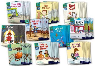 Read Write Inc. Phonics Book Bag Books: Green Set 1 Storybooks Pack of 100 - Read Write Inc. Phonics Book Bag Books
