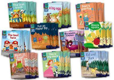 Read Write Inc. Phonics Book Bag Books: Purple Set 2 Storybooks Pack of 100 - Read Write Inc. Phonics Book Bag Books