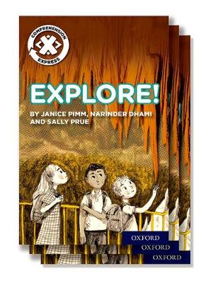 Project X Comprehension Express: Stage 1: Explore! Pack of 6 - Project X Comprehension Express