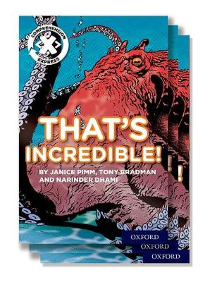Project X Comprehension Express: Stage 1: That's Incredible! Pack of 6 - Project X Comprehension Express