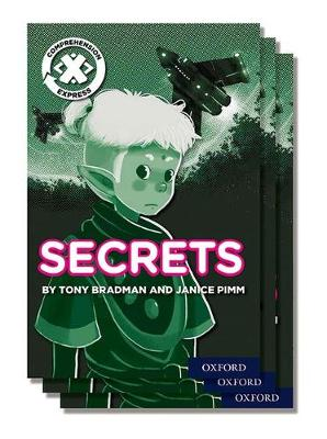 Project X Comprehension Express: Stage 2: Secrets Pack of 6 - Project X Comprehension Express