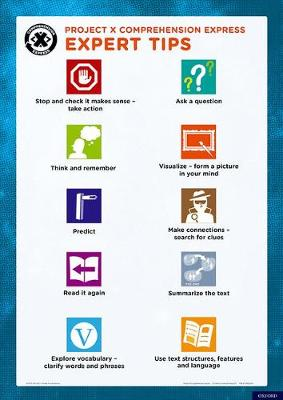 Project X Comprehension Express: Expert Tip Poster - Project X Comprehension Express (Poster)