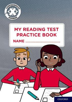 Project X Comprehension Express: Stage 3: My Reading Test Practice Book Pack of 6 - Project X Comprehension Express