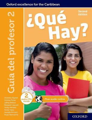 Que Hay: Que Hay: Teacher's Guide 2 - Que Hay