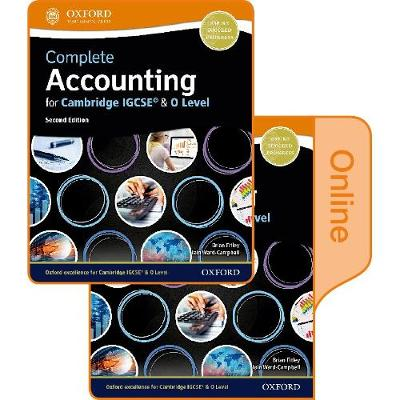 Complete Accounting for Cambridge IGCSE & O Level: Print & Online Student Book Pack