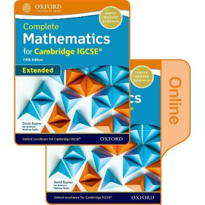 Complete Mathematics for Cambridge IGCSE (R) Student Book (Extended): Print & Online Student Book Pack
