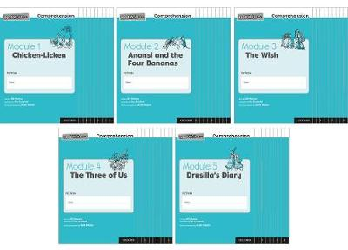 Read Write Inc. Comprehension: Modules 1-5 Class Pack of 50 (10 of each title) - Read Write Inc. Comprehension