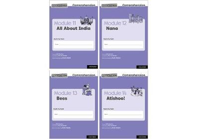 Read Write Inc. Comprehension: Modules 11-14 Mixed Pack of 4 (1 of each title) - Read Write Inc. Comprehension