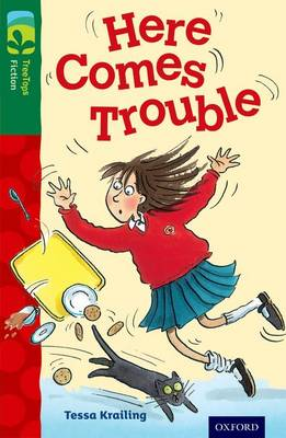 Oxford Reading Tree TreeTops Fiction: Level 12 More Pack A: Here Comes Trouble - Oxford Reading Tree TreeTops Fiction (Paperback)