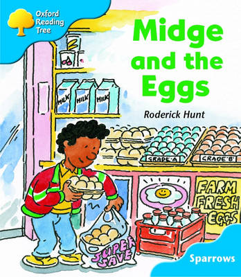 Oxford Reading Tree: Level 3: Sparrows: Midge and the Eggs (Paperback)