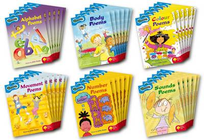 Oxford Reading Tree: Levels 3-4: Glow-worms: Class Pack (36 books, 6 of each title) - Oxford Reading Tree