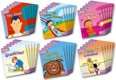 Oxford Reading Tree: Level 1+: Snapdragons: Class Pack (36 books, 6 of each title) - Oxford Reading Tree