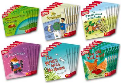 Oxford Reading Tree: Level 4: Snapdragons: Class Pack (36 books, 6 of each title) - Oxford Reading Tree