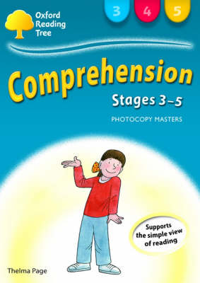 Oxford Reading Tree: Levels 3-5: Comprehension Photocopy Masters - Oxford Reading Tree (Spiral bound)