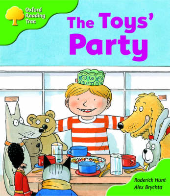 Oxford Reading Tree: Stage 2: Storybooks: the Toys' Party (Paperback)