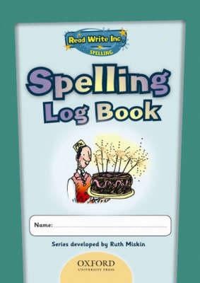 Read Write Inc.: Get Spelling Log Book Pack of 5