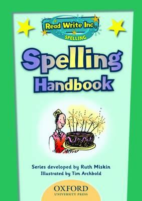 Read Write Inc: Spelling Teachers Handbook (Spiral bound)