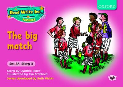Read Write Inc. Phonics: Storybooks Set 3A (Pink): Mixed Pack of 5 (1 of each title) - Read Write Inc. Phonics