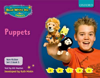 Read Write Inc. Phonics: Non-fiction Set 2 (Purple): Puppets? (Paperback)