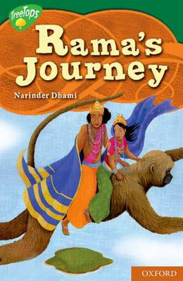 Oxford Reading Tree: Level 12: Treetops Myths and Legends: Rama's Journey (Paperback)