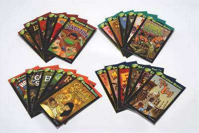 Oxford Reading Tree: Levels 13-16: Treetops Graphic Novels: Super Easy Buy Pack