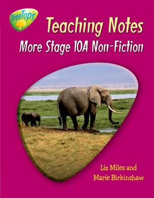 Oxford Reading Tree: Level 10 Pack A: Treetops Non-fiction: Teaching Notes (Paperback)