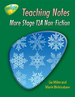 Oxford Reading Tree: Level 12 Pack A: Treetops Non-Fiction: Teaching Notes (Paperback)