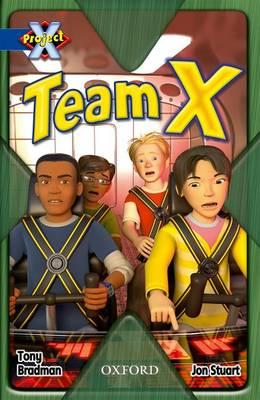 Project X: Y5 Blue Band: Top Secret Cluster: Team X (Paperback)