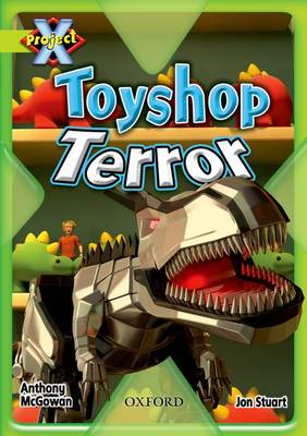 Project X: Lime: Trapped: Toyshop Terror (Paperback)
