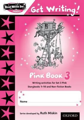 Read Write Inc. Phonics: Get Writing!: Pink Book 3 - Read Write Inc. Phonics: Get Writing! (Paperback)