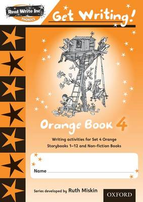 Read Write Inc. Phonics: Get Writing!: Orange 4 Pack of 10