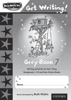 Read Write Inc. Phonics: Get Writing!: Grey 7 Pack of 10 - Read Write Inc. Phonics: Get Writing!