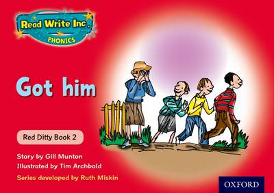 Read Write Inc. Phonics: Red Ditty Book 2 Got Him (Paperback)