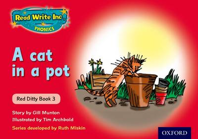 Read Write Inc. Phonics: Red Ditty Book 3 a Cat in a Pot (Paperback)