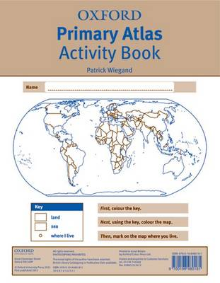 Oxford Primary Atlas Activity Book (Paperback)