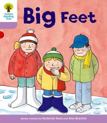 Oxford Reading Tree: Level 1+: First Sentences: Big Feet - Oxford Reading Tree (Paperback)