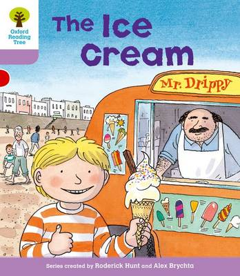 Oxford Reading Tree: Level 1+: More First Sentences C: Ice Cream - Oxford Reading Tree (Paperback)