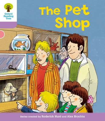 Oxford Reading Tree: Level 1+: Patterned Stories: Pet Shop - Oxford Reading Tree (Paperback)