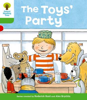 Oxford Reading Tree: Level 2: Stories: The Toys' Party - Oxford Reading Tree (Paperback)