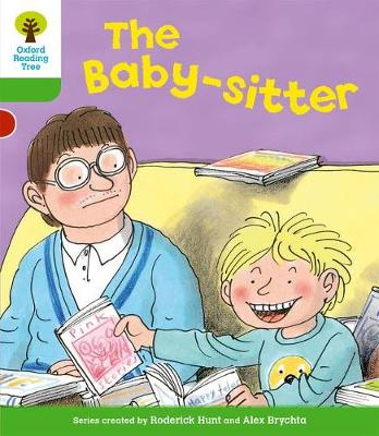 Oxford Reading Tree: Level 2: More Stories A: The Baby-sitter - Oxford Reading Tree (Paperback)