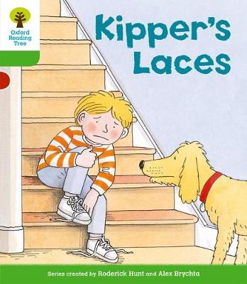 Oxford Reading Tree: Level 2: More Stories B: Kipper's Laces - Oxford Reading Tree (Paperback)