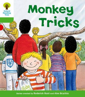 Oxford Reading Tree: Level 2: Patterned Stories: Monkey Tricks - Oxford Reading Tree (Paperback)
