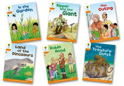 Oxford Reading Tree: Level 6: Stories: Pack of 6 - Oxford Reading Tree